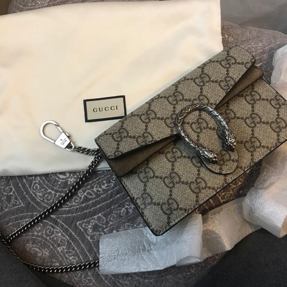 124bae4cd Gucci Bags   Super Mini Dionysus Crossbody Damage   Poshmark